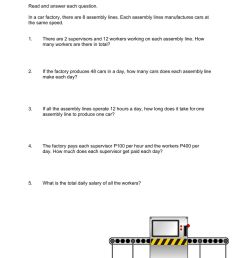Multiplication and Division Word Problems worksheet [ 1291 x 1000 Pixel ]