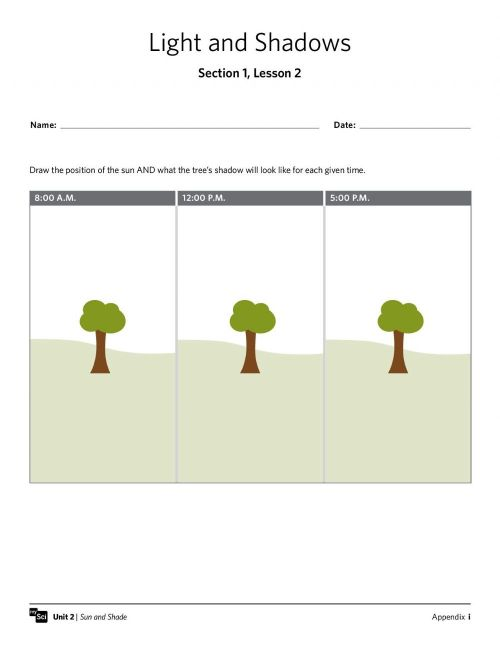 small resolution of Shadow interactive worksheet