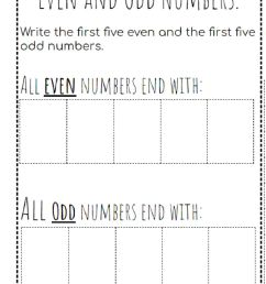 Even and Odd numbers interactive worksheet [ 1291 x 1000 Pixel ]