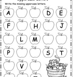 ABC-apples worksheet [ 1315 x 1000 Pixel ]