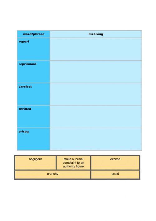 small resolution of Vocabulary workbook p2 Part i worksheet