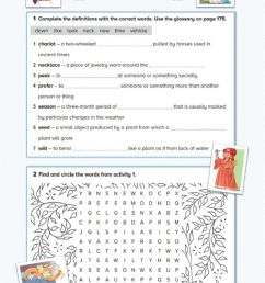 Persephone: Vocabulary and Reading Comprehension worksheet [ 1413 x 1000 Pixel ]