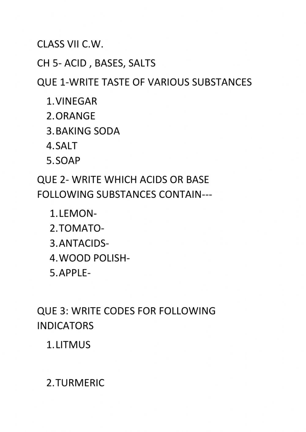 medium resolution of Acids bases salts worksheet