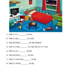 Prepositions of place online exercise for 3rd grade [ 1413 x 1000 Pixel ]