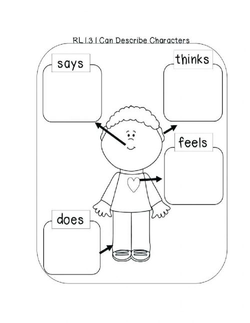 small resolution of Character Trait Graphic Organizer worksheet