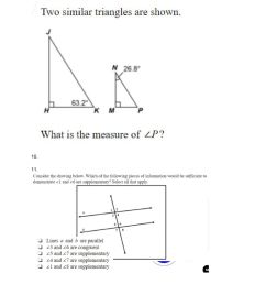 Angles and Triangles Review worksheet [ 1291 x 1000 Pixel ]