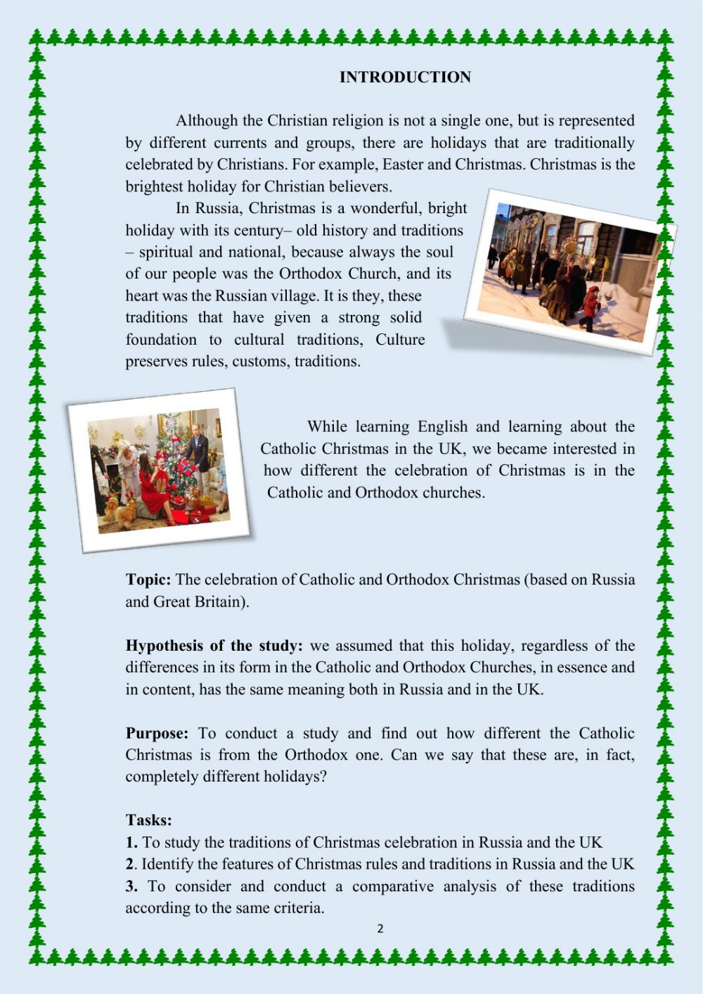 medium resolution of Christmas: Catholic and Orthodox worksheet