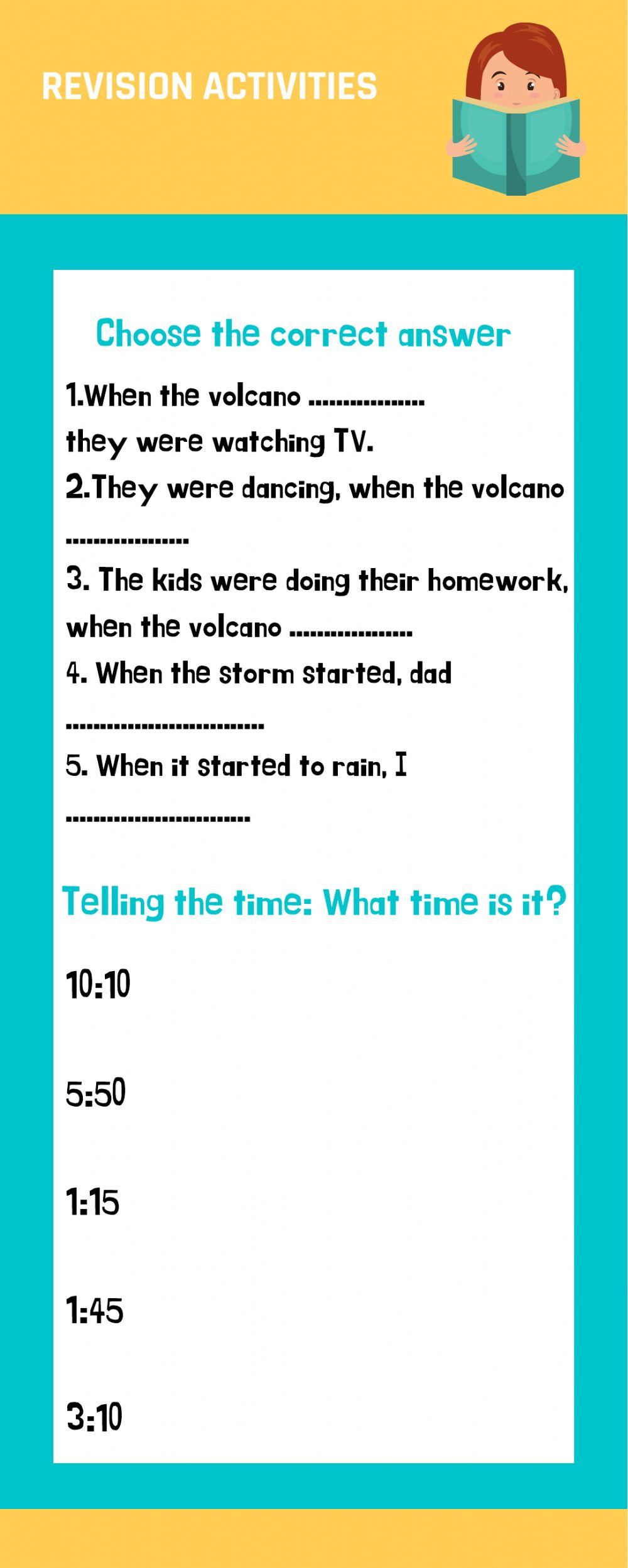 hight resolution of Grammar online exercise for 6th
