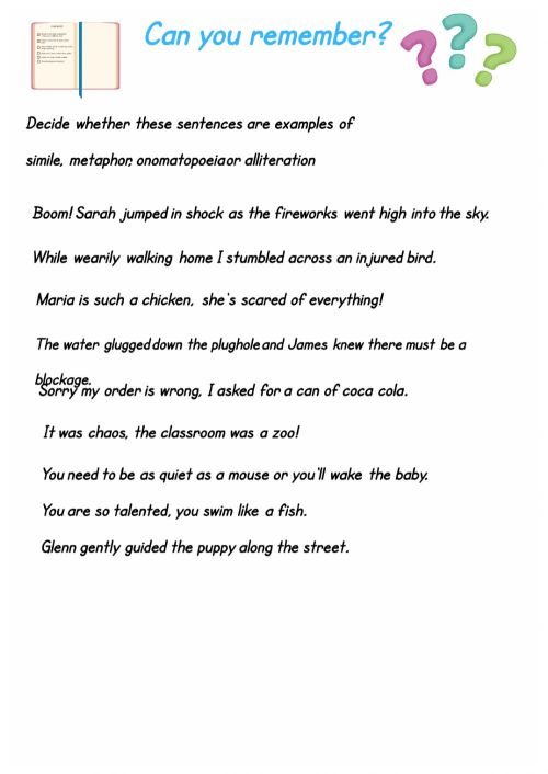 small resolution of General English Test worksheet