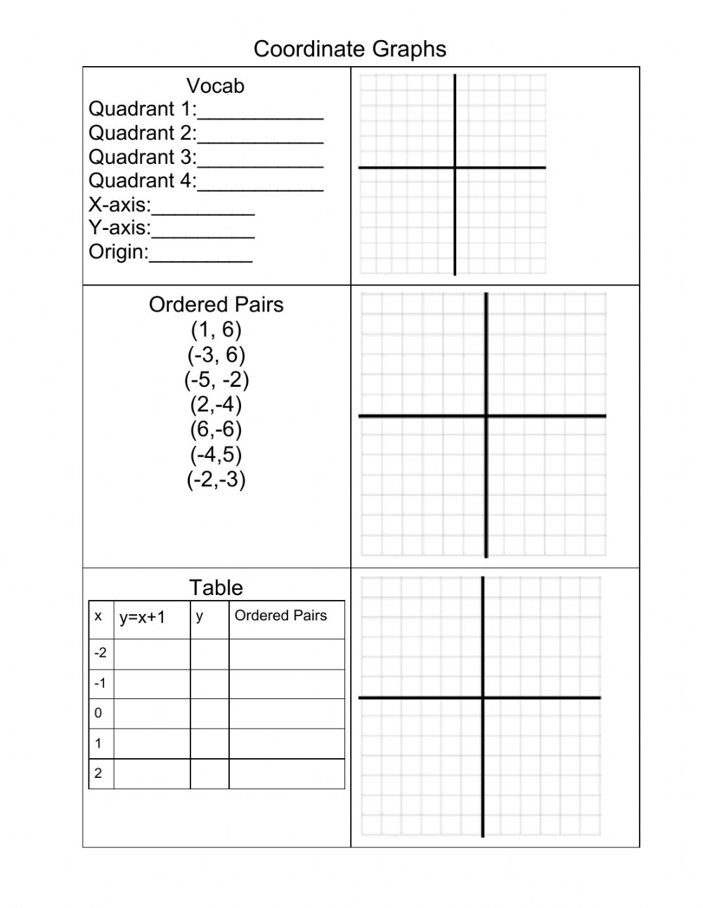hight resolution of Coordinate Grids worksheet