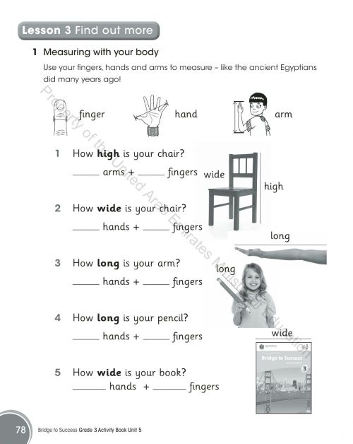small resolution of English online exercise for 3