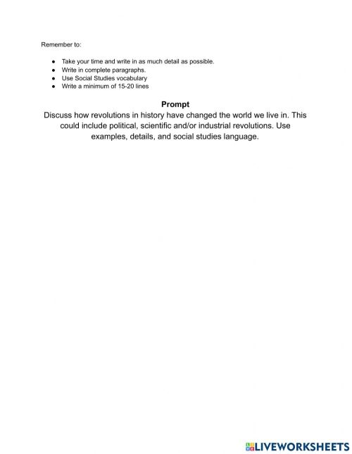 small resolution of 10th Grade Writing Prompt worksheet