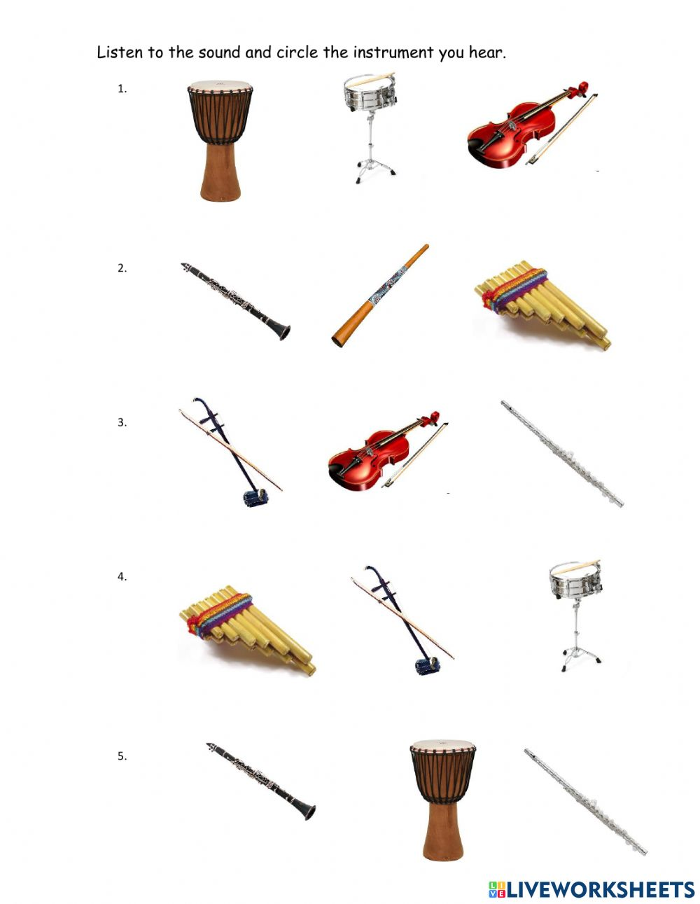 medium resolution of Instruments zsciencez exercise