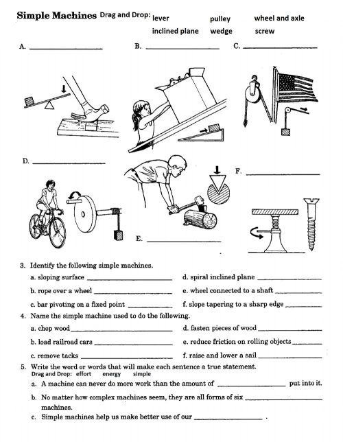 small resolution of PS-12-Identifying Simple Machines worksheet