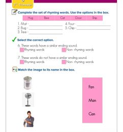January Quiz - Rhymes worksheet [ 1291 x 1000 Pixel ]