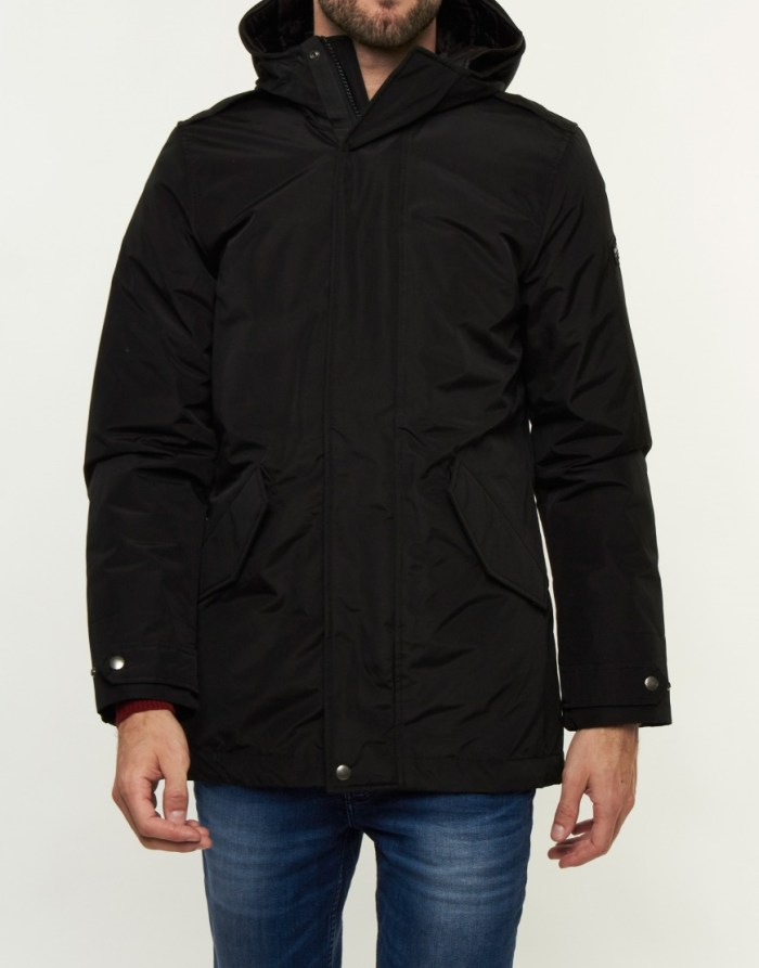 Jas - Long Military Eskimo Black
