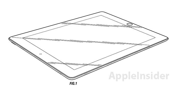 Apple fait breveter le design du second iPad