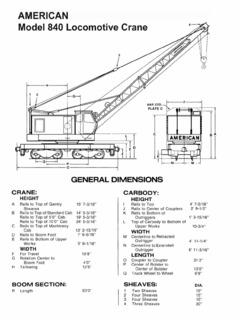 Railroad Cranes Listings Crane.Market