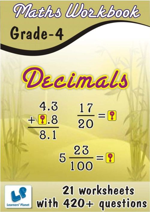 small resolution of Get your digital copy of Grade-4-Maths-Decimals-Workbook issue