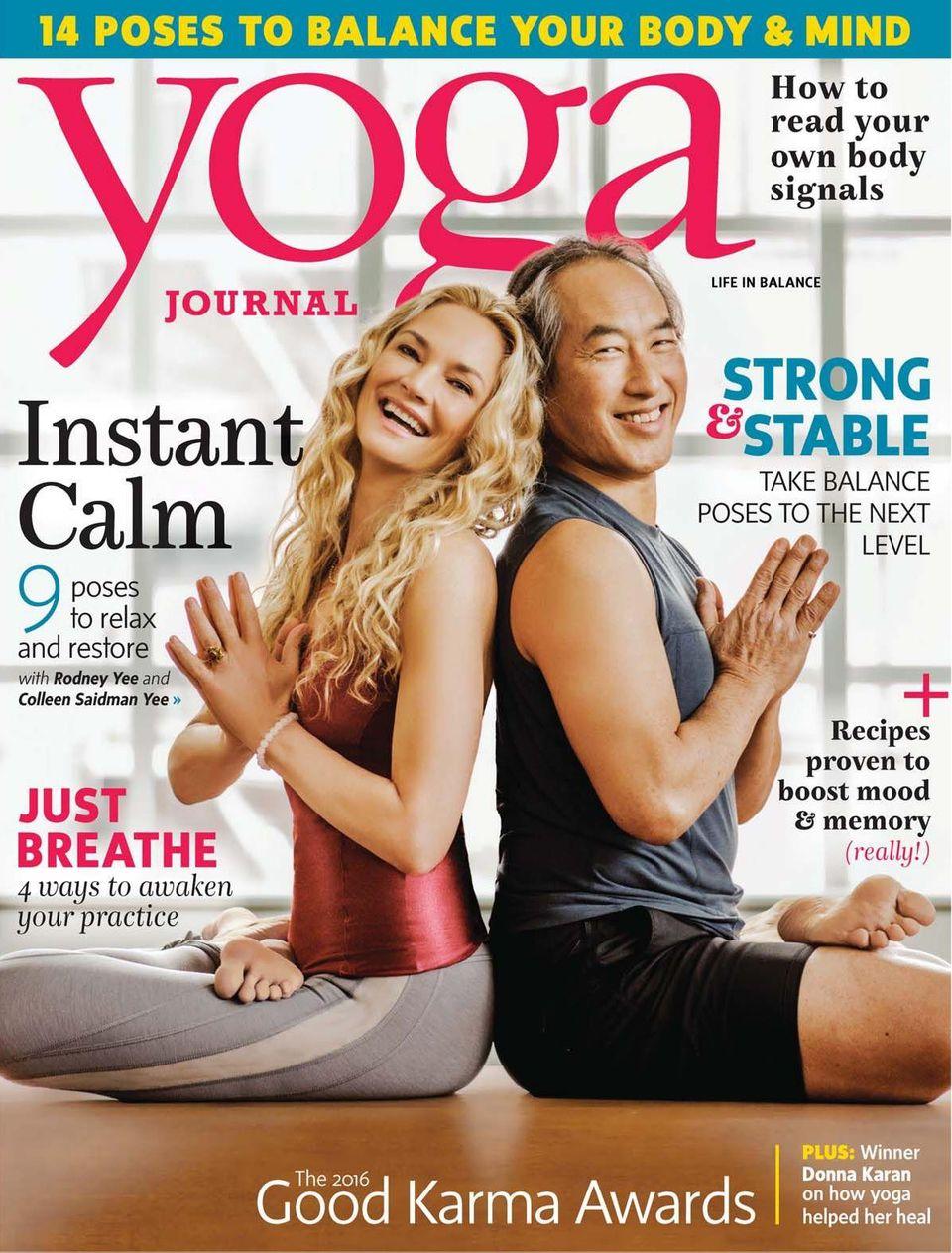 Yoga Journal-September 2016 Magazine - Get your Digital Subscription