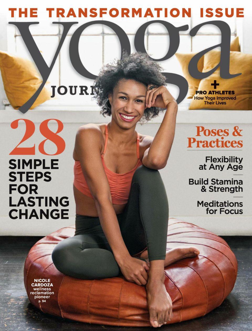 Yoga Journal-September - October 2019 Magazine