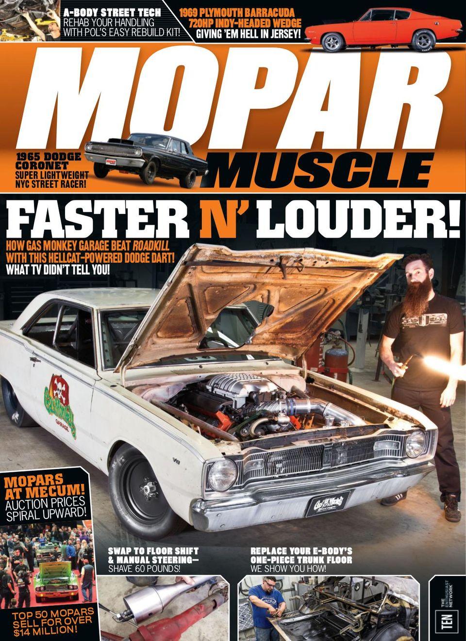 Dodge Dart Hellcat Body Kit : dodge, hellcat, Digital, Mopar, Muscle-July, Issue