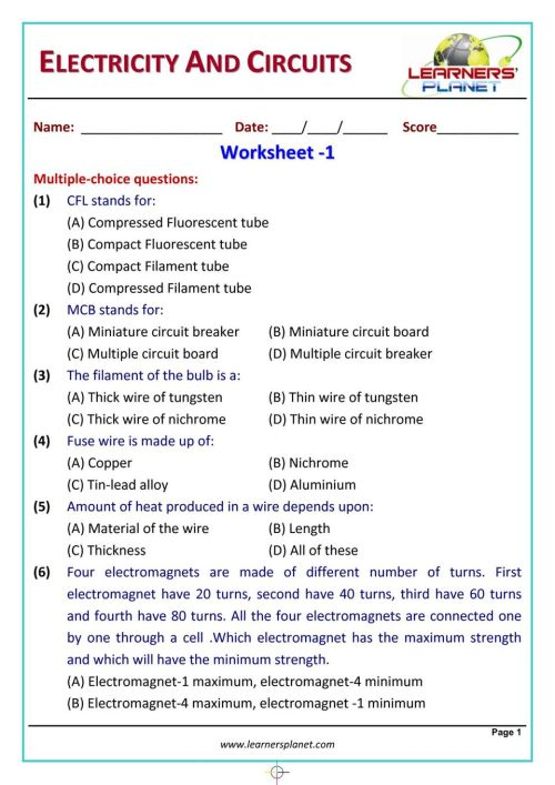 small resolution of Get your digital copy of Grade-6-Science-Olympiad - Electricity \u0026 Circuits  issue