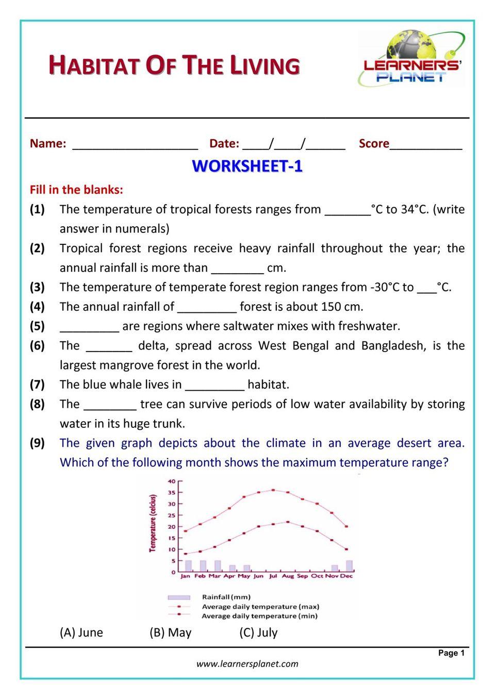 medium resolution of Grade-6-Science-Olympiad: Habitat of the Living Magazine