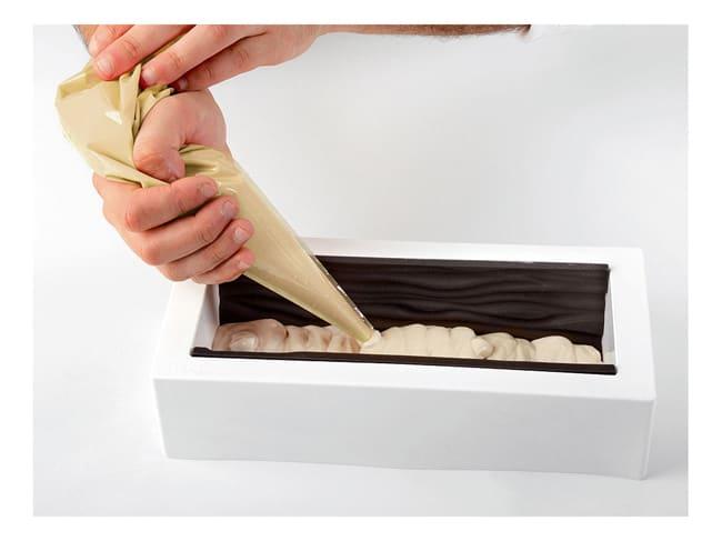 moule a buche silicone tapis arabesque 25 x 9 cm silikomart