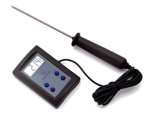 thermometre de cuisson sonde electronique 50 c a 200 c matfer
