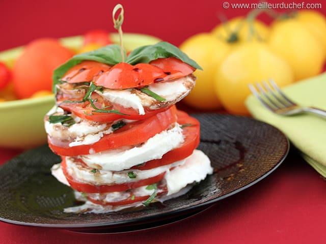 Tomate Mozzarella Recette De Cuisine Illustre