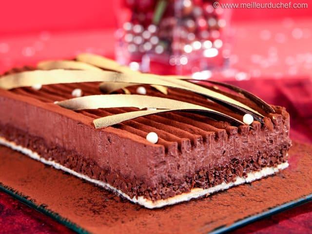 Trianon au chocolat  Fiche recette illustre