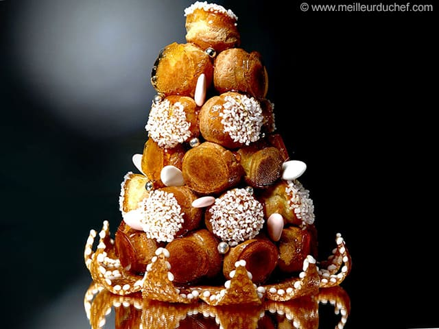 Pice monte  Wedding cake  Fiches recettes  MeilleurduChefcom