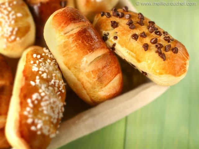 Pain au Lait Buns  Our recipe with photos