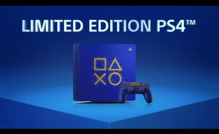 PlayStation-Sony-Days of Play Limited Edition PS4