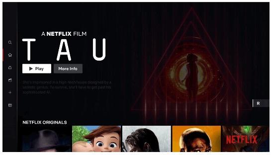 Netflix-Interfaz-short