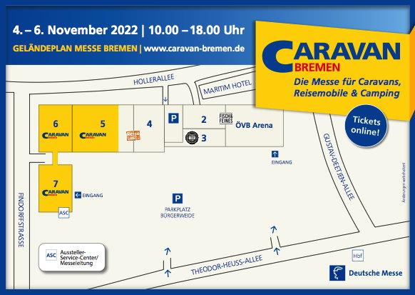 CARAVAN Bremen / Besucher-Service / Anreise + Unterkunft