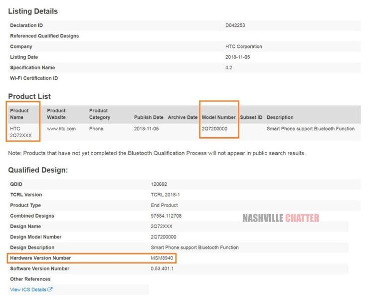 HTC szykuje średniaka ze Snapdragonem 435? :: mGSM.pl