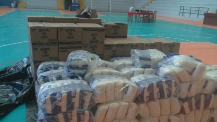 donación de alimentos en Perú