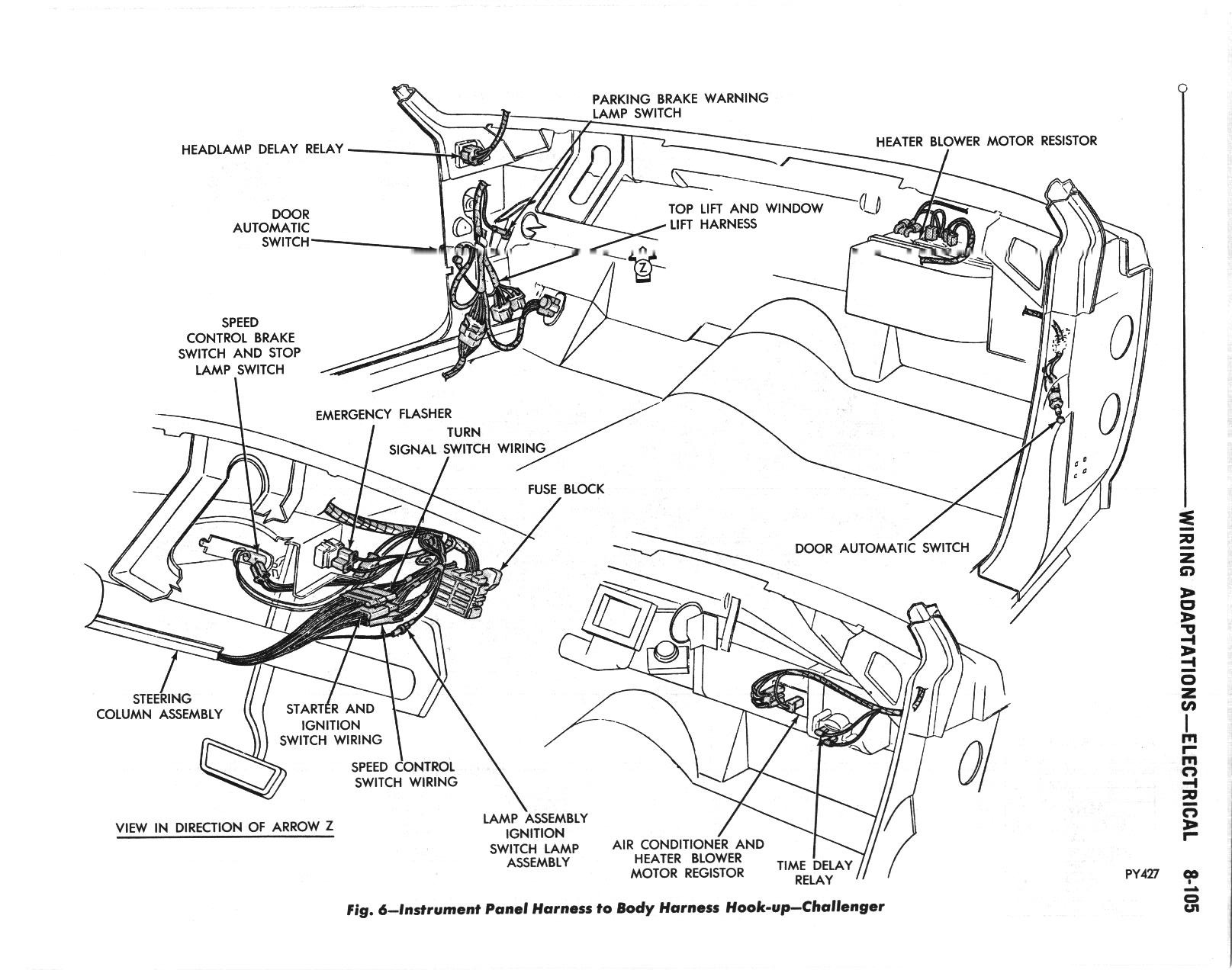 Challenger Wiring Diagrams The Dodge Challenger