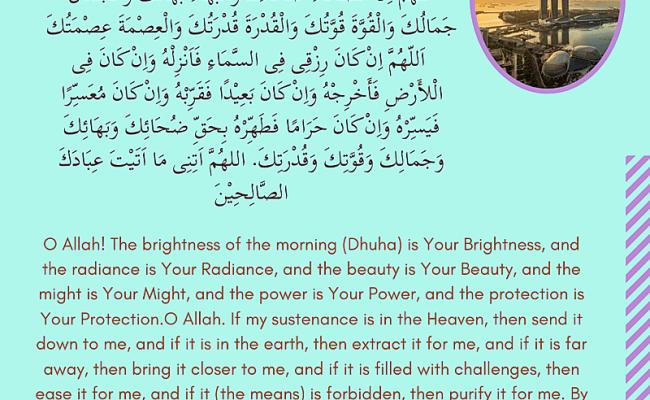 Doa Makan In English