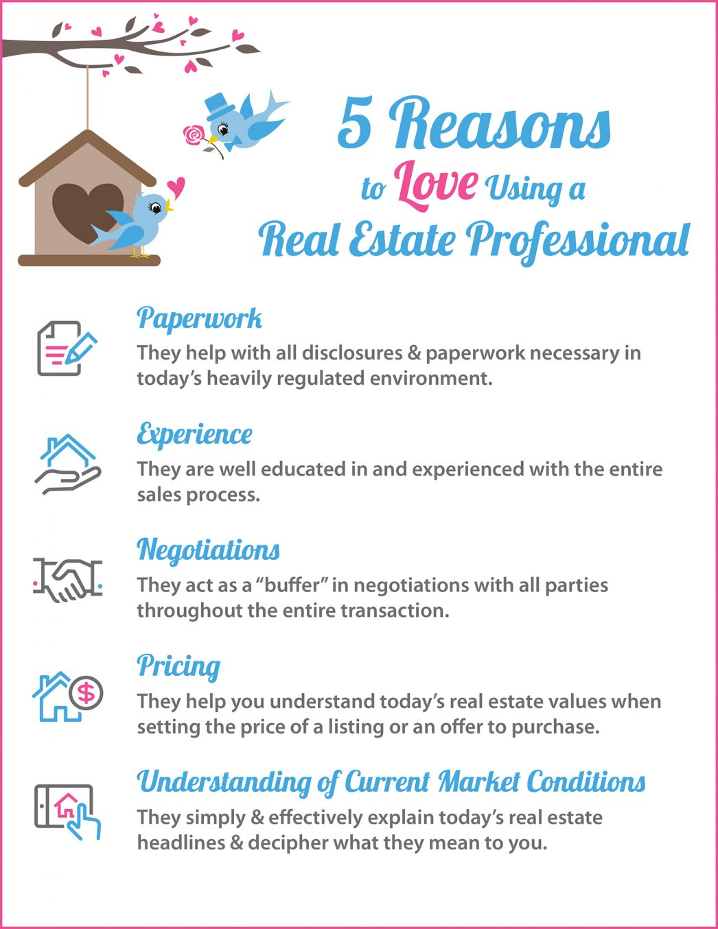 5 Reasons to Love Using A RE Pro [INFOGRAPHIC]   MyKCM
