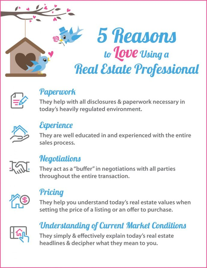5 Reasons to Love Using A RE Pro [INFOGRAPHIC] | MyKCM