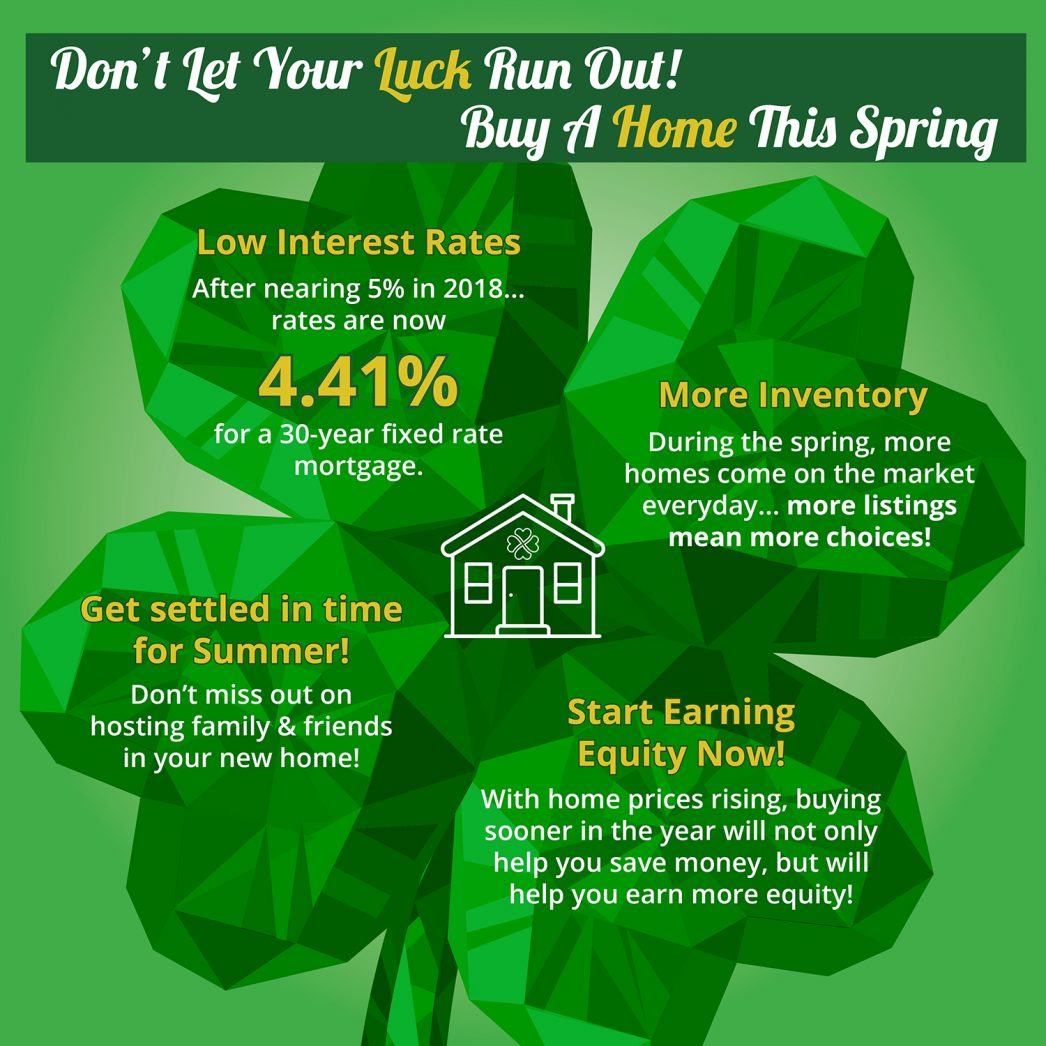 Don't Let Your Luck Run Out! Buy A Home This Spring [INFOGRAPHIC] | My KCM