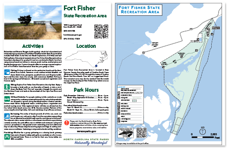 Maps And Brochures NC State Parks