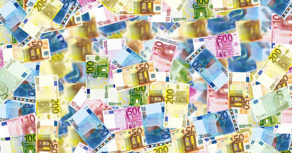 Euro-Scheine. / Bild: Pixabay / angelolucas; CC0