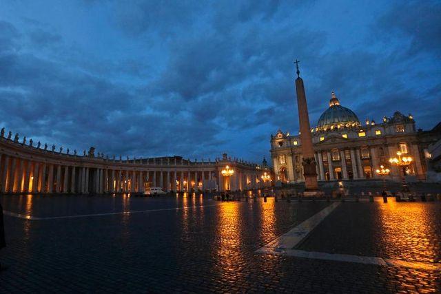 Was steht sonst noch im Vatileaks-Bericht? Der Petersplatz in Rom.