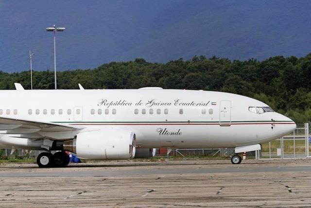 L'avion du président de la Guinée équatoriale a été saisi par les autorités à Genève Aéroport le 20 juin.