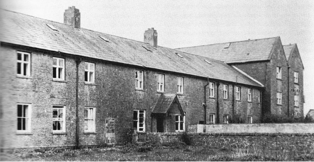 Le couvent «The Home» à Tuam en 1950.