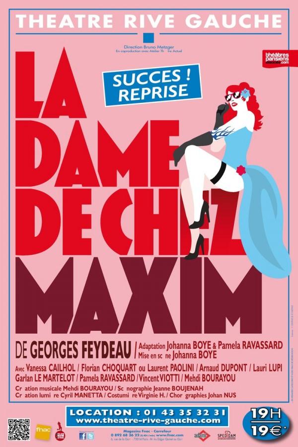 La Dame De Chez Maxim Porte Saint Martin : maxim, porte, saint, martin, Maxim, Théâtre, Gauche, L'Officiel, Spectacles
